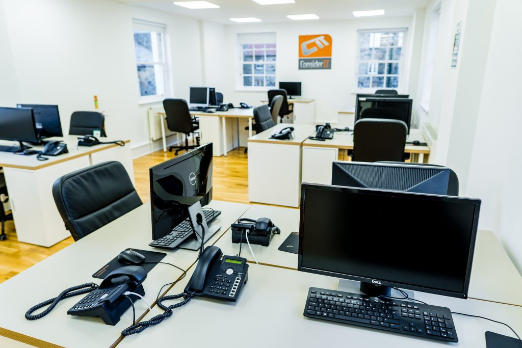 Consider IT's office designed for disaster recovery in Edinburgh